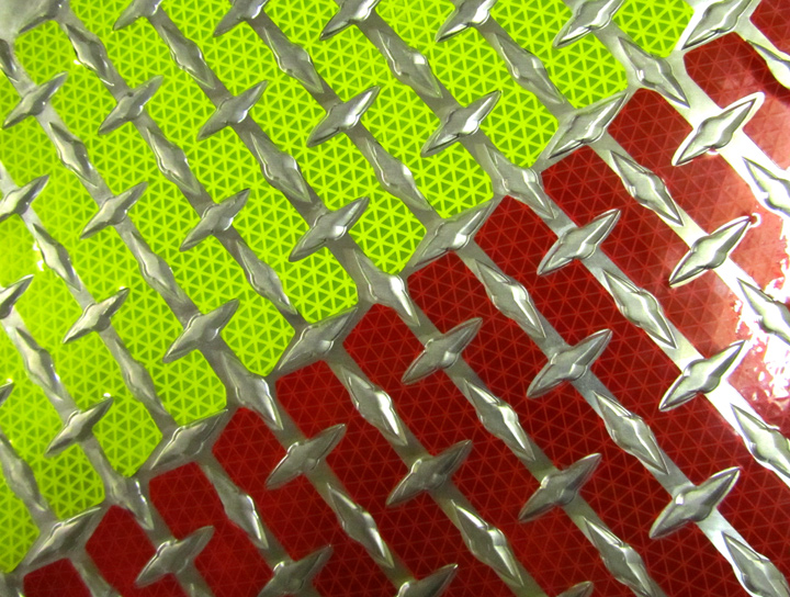 nfpa 1901 1917 diamond plate chevrons